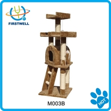 Very welcomed cat scratching post cat tree in cat tree furniture