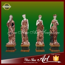 Life Size Marble Stone Four Seasons god Garden Sculpture For Sale