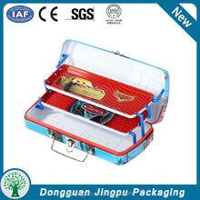 Dongguan manufacturing students metal pen boxes Pencil case