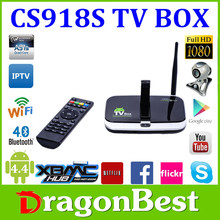 cs918s tv box 2g16g 5.0MP Camera and MIC Allwinner A31S Quad Core Support Multi languages