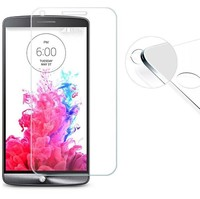 Promotion Tempered Glass Fingerprint No Rainbow Washable Screen Protector for LG G2