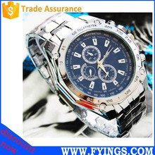 Japan movt quartz stainless steel mens watches