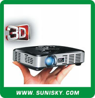 500 Ansi Lumen mini hd 3d led projector with HDMI (SMP7047A)