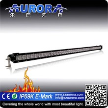 Factory direct sell 100% optically clear Aurora single 40'' led lights for trailers