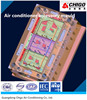Precision air-conditioner accessory injection molds plastic shaping mode