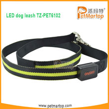 2015 Pet Led leash for dogs pet product supplier in china TZ-PET6102