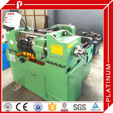 Through feed thread rolling machine for carbon steel