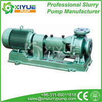 chemical rubber lining acid pump