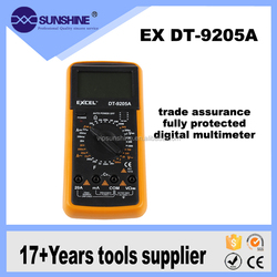 Excel dt9205a trade assurance fully protected digital multimeter with Automatic shutdown function