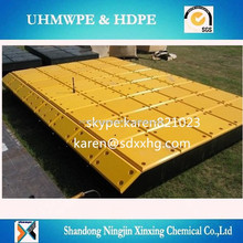 Customized Corrosion resistance UHMWPE plastic marine/dock/ fender pad /panel