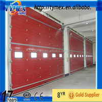 Industrial Insulated Sectional Door ---Remote Control Operation