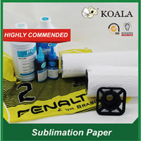 90g Sublimation heat transfer paper for digital texile printing China factory supplier