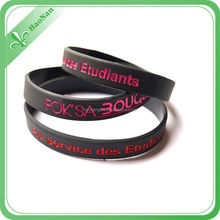 2015 Hot new products bulk cheap silicone wristband