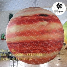 Beautiful design custom inflatable hanging lighting Solar system Eight planets--Jupiter
