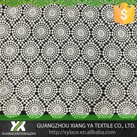 810006 cotton chemical guipure designs high quality embroidery lace fabric lace drapery fabric