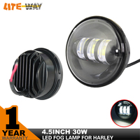 USA STOCK 30W motorcycle Fog Light for Harley-Davidson Motorcycle