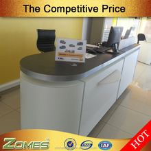 Zomes007 Backing paint reception area desk in UAE
