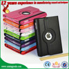 Wholesale new 360 rotating stand PU case For Ipad air air2 , Hot selling PC+PU rotating leather case