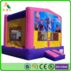 Professional factory buy bounce house wholesale/ commercial frozen bounce house with CE certificate