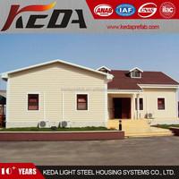 Economic Pre Made Modular Villa Prefab Home Made in Foshan,China 212