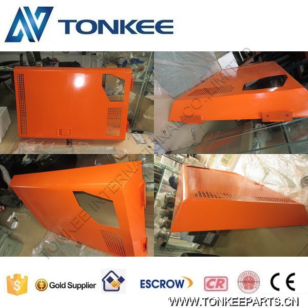 excavator EX120-1 engine cover Bonnet panel engine hood insulation cover for HITACHI (4)1.jpg
