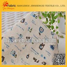 10# Taste life blue printing craft/curtains/cloth/flax cotton diy fabric