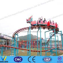 outdoor playground roller coaster slide dragon kids ride for sale
