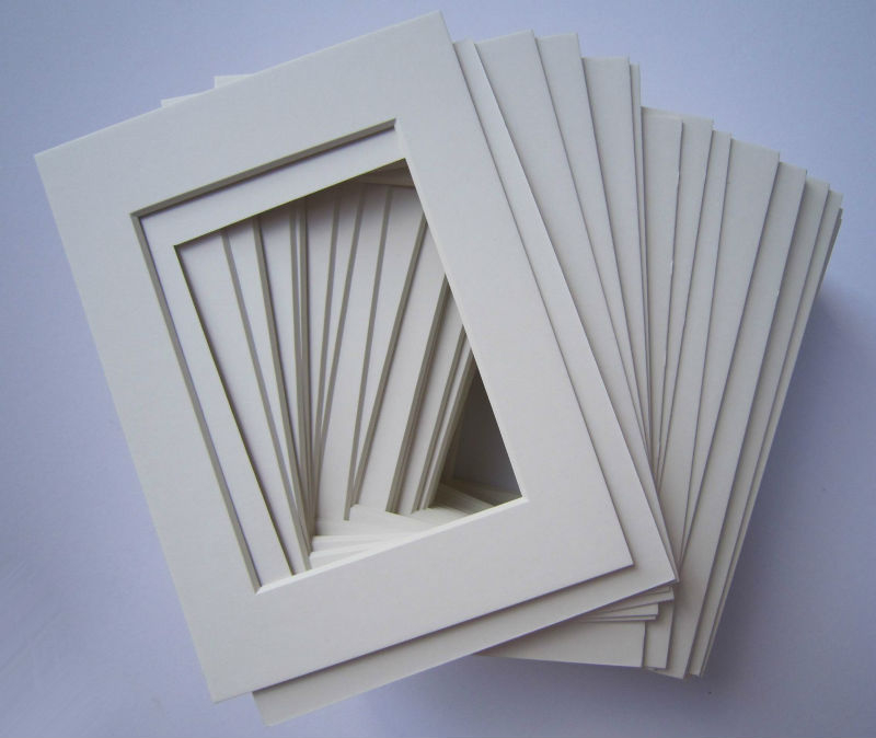 300 kinds of different color matboard paper mount board multi