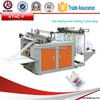 Single Line Hot Sealing Hot Cutting T-shirt Bag Making Machine