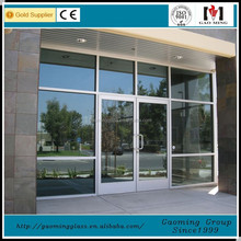 China very good supplier tempered glass inserts door with professional engineers team DS-LP4904