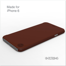 Super slim leather phone case for iphon 6s