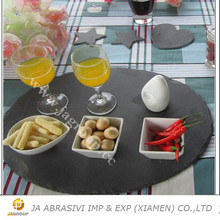 Well designed natural slate plates serving dishes on sale