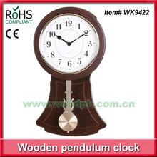 Woodpecker modern pendulum clock brass clock office wall clock
