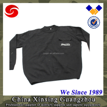 comfortable durable Wool/ Acrylic/Spendex Military Pullover Sweater