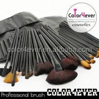 32pcs makeup brushes free samples,make up brushes,makeup brush set cosmetic makeup trolley