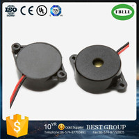 FBPB2211 low current 22mm 6V/12V/24V DC piezo buzzer wired (FBELE)