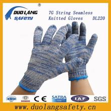 Comfortable Men's String Cotton Gloves Knit Cotton Gloves