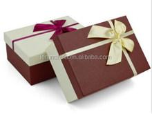 alibaba china hot sale folding luxury party dress/skirt paper box packaging