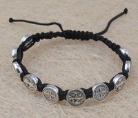 bracelet wood bracelet with religious pictures