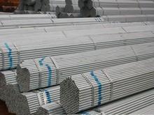 zinc coating galvanized steel round pipe