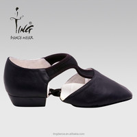2015 new women leather dance shoes