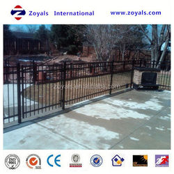 aluminum ornamental fences and gates manufacturer with ISO 9001