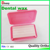 white dental colorful orthodontic teeth wax