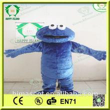 hi ce de alta calidad de disfraz adulto cookie monster