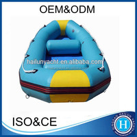 10 ft inflatable fishing raft pontoon boat made in china