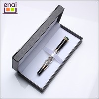 Luxury gift golden dragon fountain pen with gift box