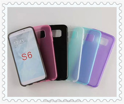 High Quality Matte Pudding Soft TPU Gel Skin Cover Case For Samsung Galaxy S6 G920