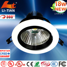 New product downlight led high power downlight 18w ip44
