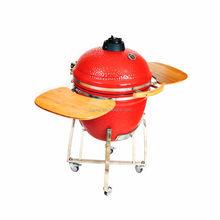 "Popular Refractory 12"" the cub mini kamado ceramic bbq grill/ceramic-barbecue-smoker-grill"
