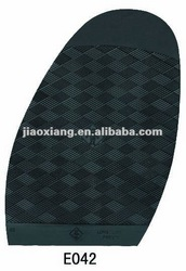 E042 Natural Rubber Sole , Shoes Repair Material , Rubber Heel